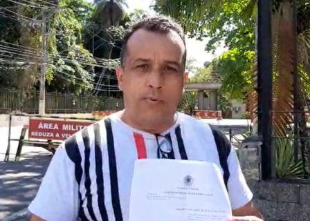Finalmente liberado pela MARINHA suboficial Bonifácio fala sobre o que ocorreu e agradece o apoio