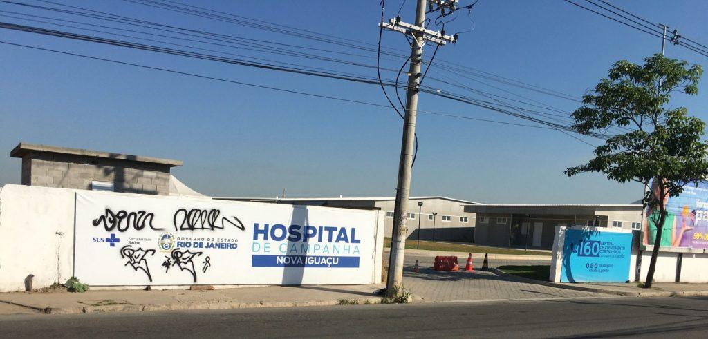 Falta de Leitos Aonde? Cadê os Hospitais de Campanha de NOVA IGUACU-DUQUE DE CAXIAS-MARACANA E SÃO GONÇALO !!!